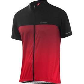 Löffler Flow Full-Zip Fahrradshirt Herren red